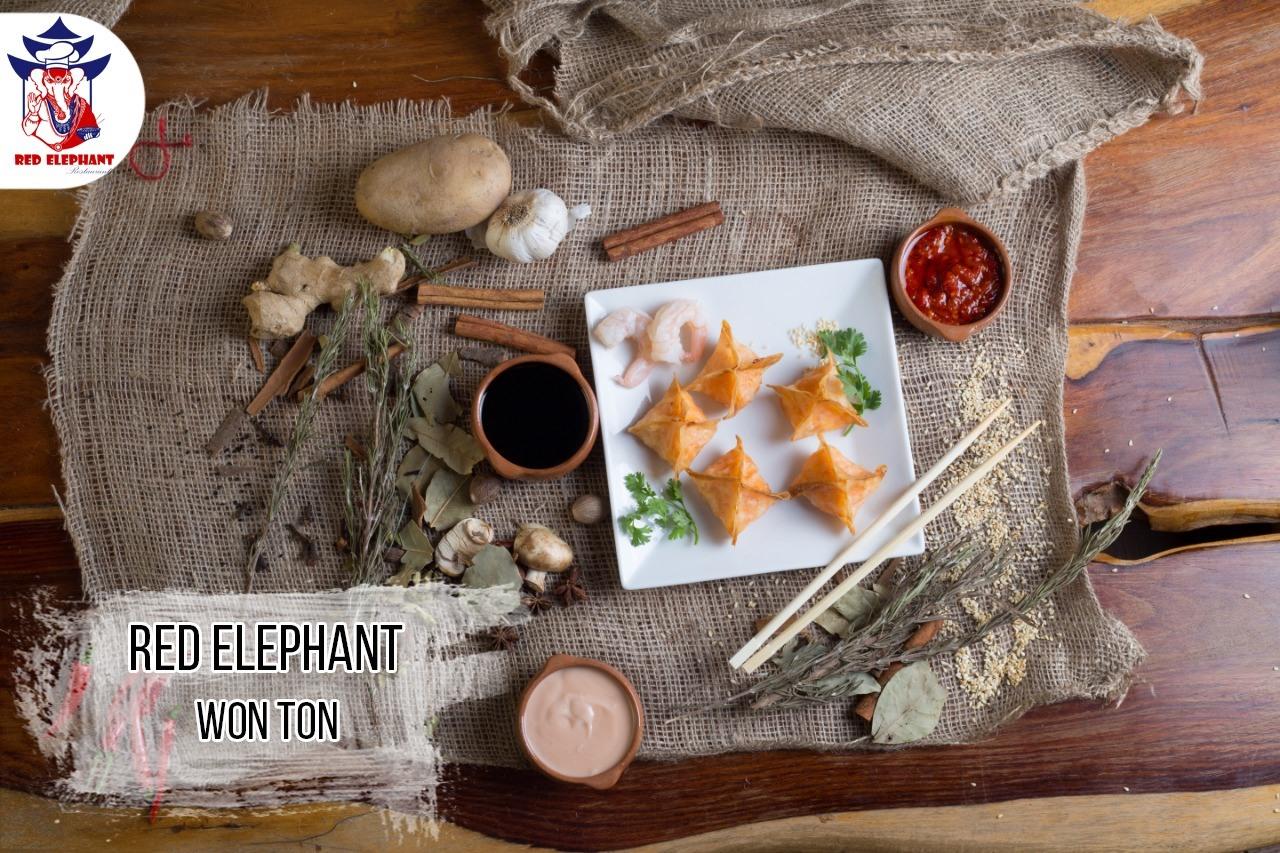 عنوان مطعم الفيل الاحمر
