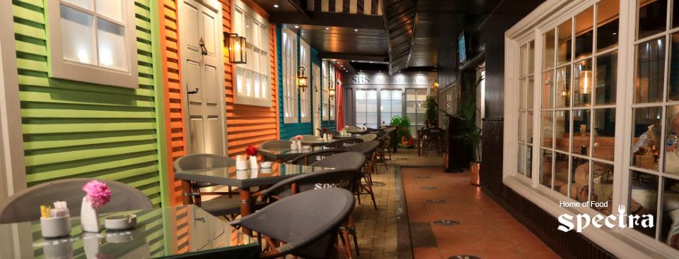 عناوين فروع مطعم سبكترا