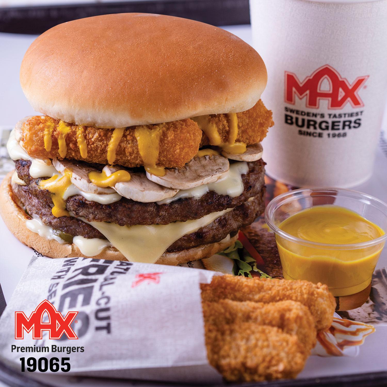 عناوين فروع مطعم ماكس برجر