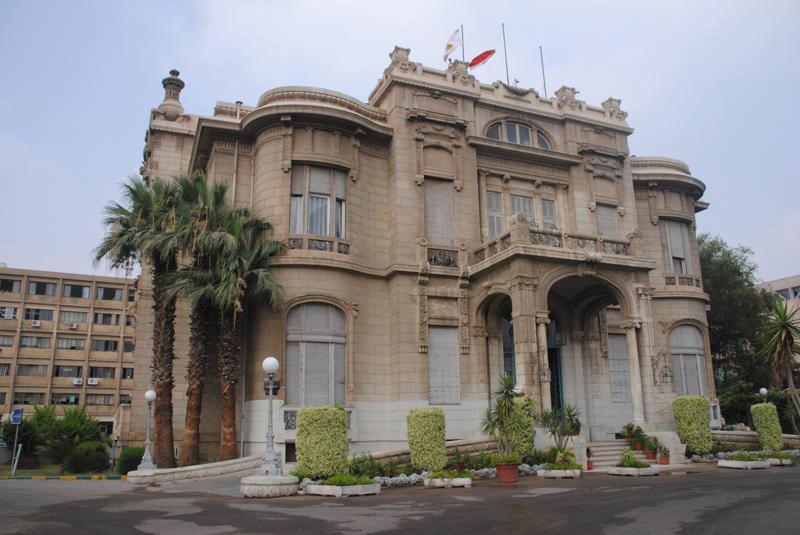 عنوان جامعة عين شمس